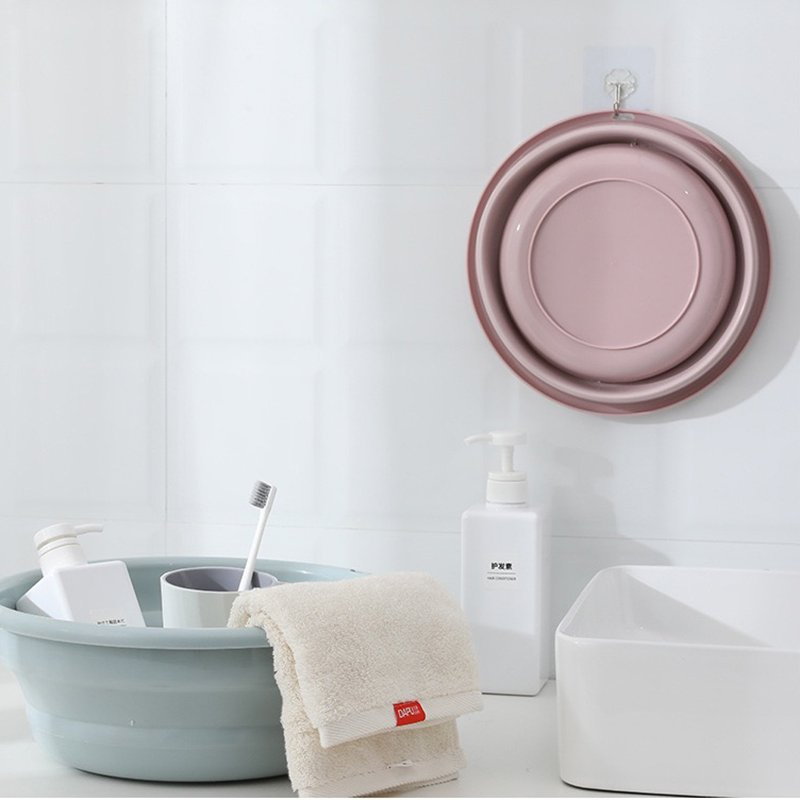 折りたたみ 洗い桶 洗面器 シリコン バケツ 折り畳み コンパクト 収納 キッチン つけおき 手洗い 洗車 洗濯|cocoro-shop|05