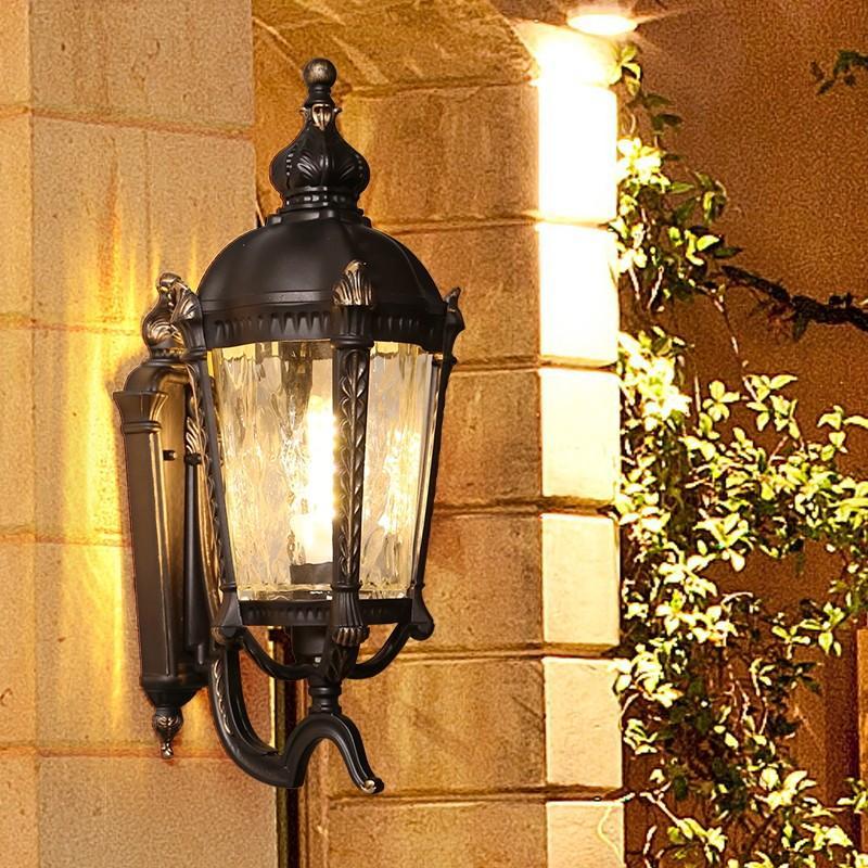 ラケットライト レトロ 壁掛け照明 ウォールライト ポーチライト 照明器具 照明器具 壁掛けライト ガーデンライト 壁掛け灯 アンティーク 防水 外灯 庭園灯 玄関照明 門灯