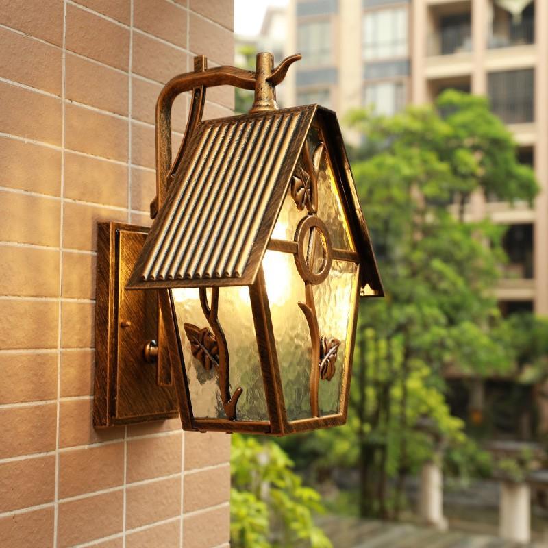 壁掛けライト 壁掛けライト 防水 庭園灯 玄関 照明 アンティーク風 壁掛け照明 ポーチライト 外灯 ガーデン 廊下 ラケットライト 室内 屋外 照明器具 ウォールライト