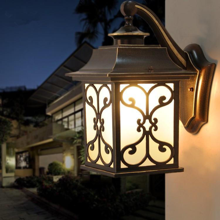 照明 外灯 壁掛け照明 アンティーク風 レトロ 玄関照明 壁掛けライト ポーチライト ポーチライト ウォールライト 防水 庭園灯 ガーデン廊下 ラケットライト 室内 屋外