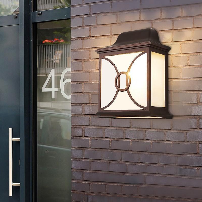 ウォールライト 外灯 壁掛けライト 照明 ラケットライト ラケットライト ポーチライト 庭園灯 防水 レトロ 玄関照明 アンティーク 壁掛け照明 ガーデン 廊下 門灯 屋外