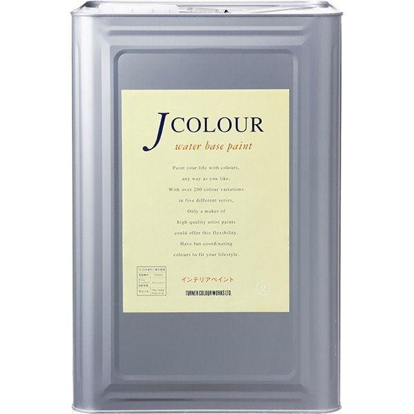 ターナー色彩:Jカラー 白い Serise 15L アイボリー ホワイト JC15WH6A