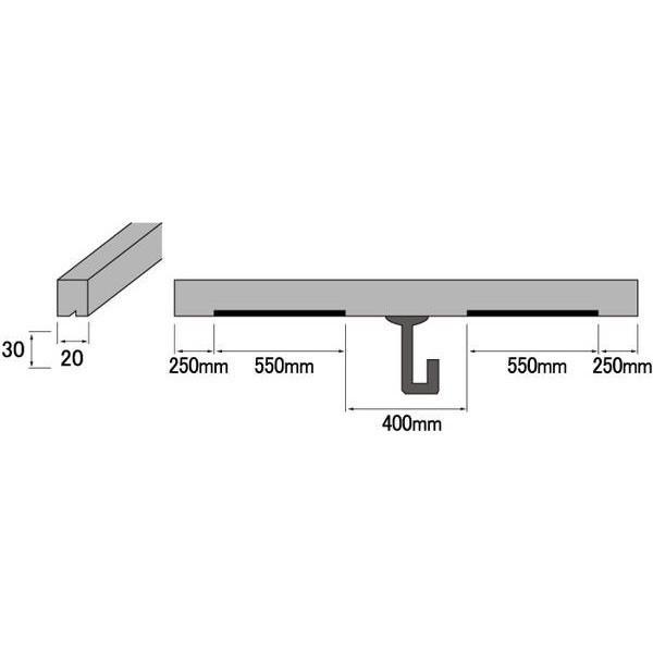 福井金属工芸:床の間三幅対取付棒金具付 福井金属工芸:床の間三幅対取付棒金具付 2602