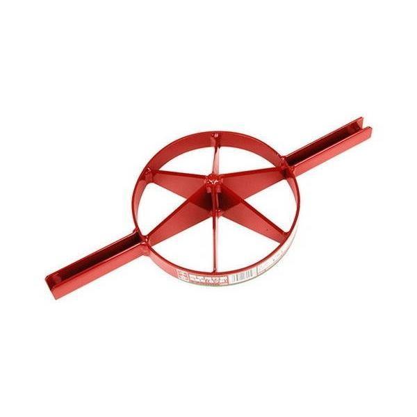 千吉:両手用竹割 全鋼刃 6割 175mm