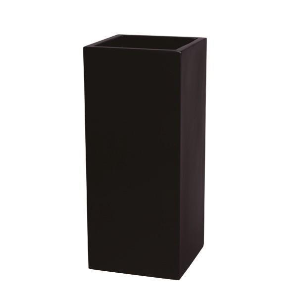 (代引不可)大和プラスチック:ファイバーグラス鉢カバー プリズム 3480 ブラック