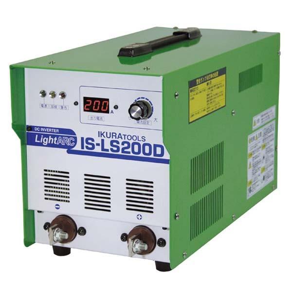 育良精機:直流アーク溶接機ライトアーク30-200A IS-LS200D