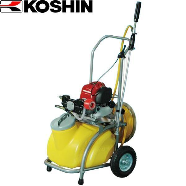 (代引不可)工進:ガーデンスプレイヤー エンジン動噴 MS-ERH25TH85