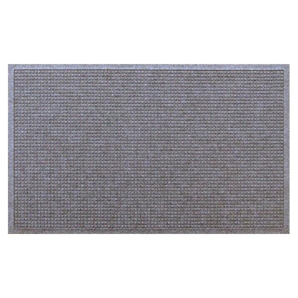 (代引不可)クリーンテックス・ジャパン:玄関マット 屋内 屋外 ウォーターホースII(ワッフル) ライト・グレー 88×146cm AC00048