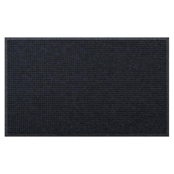 (代引不可)クリーンテックス・ジャパン:玄関マット 屋内 屋外 ウォーターホースII(ワッフル) ダーク・グレー 88×146cm AC00049