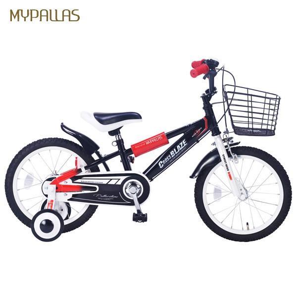 (代引不可)MyPallas(マイパラス):子ども用自転車 16インチ ブラック