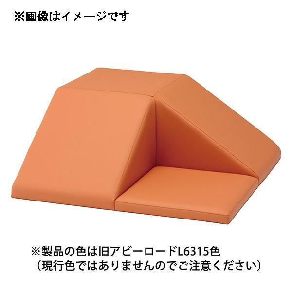 (代引不可)omoio(オモイオ):スクエア共通スロープマット (旧アビーロード品番:AO-06) 張地カラー:MP-3 ウスシラチャ