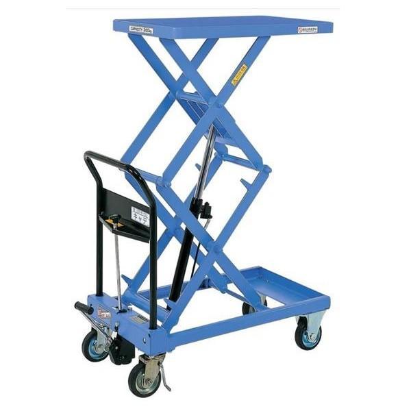 (代引不可)をくだ屋技研:リフトテーブルキャデ 高揚程タイプ 200kg仕様 LT-WH200-13