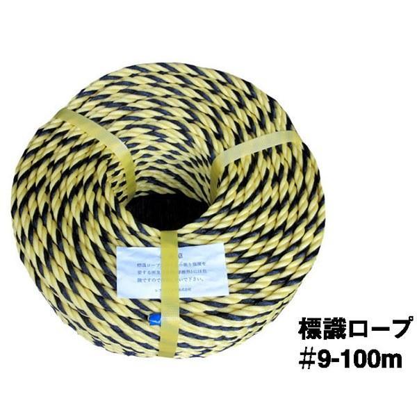 レフ・マツムラ:国産トラロープ ♯9-100m 50巻