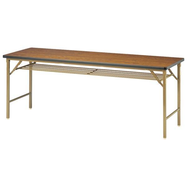 (代引不可)ニシキ工業:折りたたみテーブル DKT-1845S-ニューグレー DKT-1845S-ニューグレー