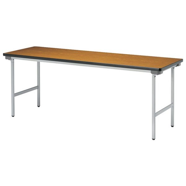 (代引不可)ニシキ工業:折りたたみテーブル (代引不可)ニシキ工業:折りたたみテーブル (代引不可)ニシキ工業:折りたたみテーブル KU-1845AN-チーク b96