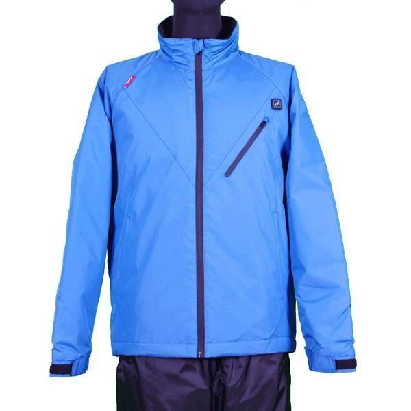 (代引不可)VIGUEUR(ヴィガール):日本製ヒーター付き暖房服長袖ジャケット VG-2011-BL-L