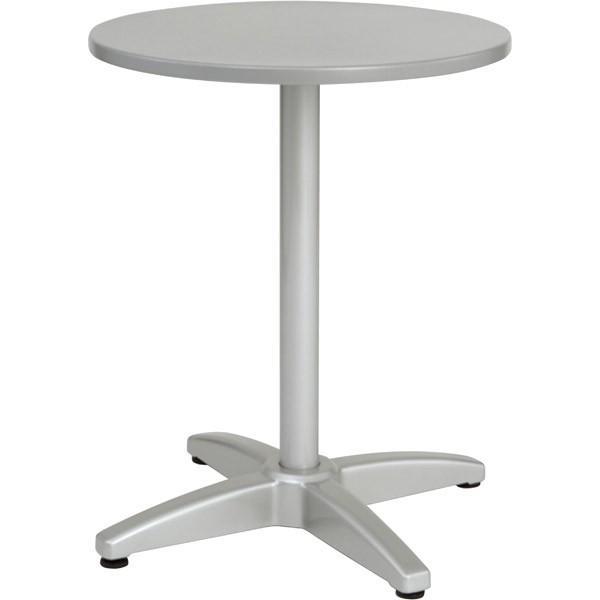ユニソン(UNISON):ラウンドテーブル AU600 シルバー 650711110
