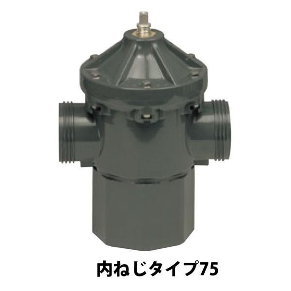 マサル工業:MHバルブ75内ねじタイプ 丸ハンドル 付属H-200 v5372v5219