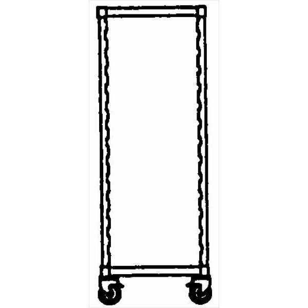 スギコ産業:キャンブロ カムシェルビング エレメンツシリーズ ソリッド型シェルフキット可動ユニット用 EMSK2448S YB2494