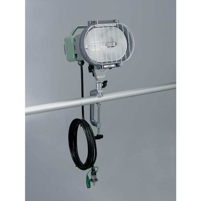 ハタヤリミテッド:瞬時再点灯型150W型メタルハライドライト(バイス付) 屋外用 10m MLV-110KH