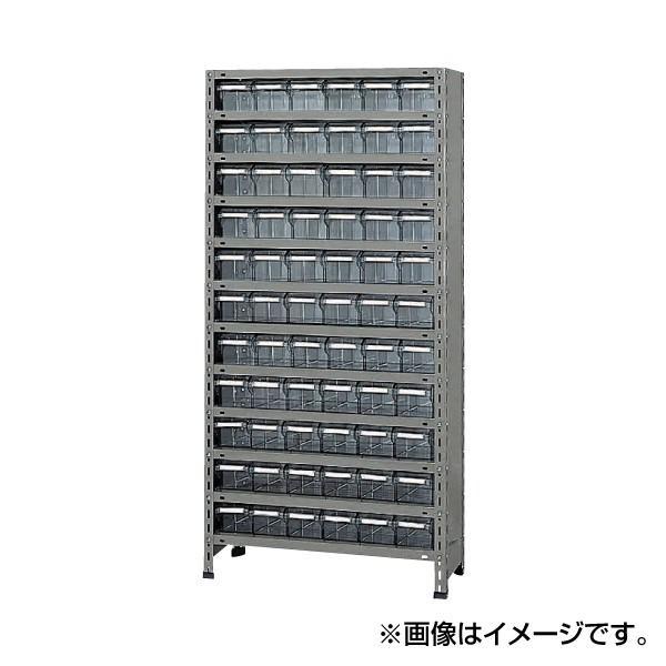 (代引不可)SAKAE(サカエ):物品棚LEK型樹脂ボックス LEK1112-66T LEK1112-66T