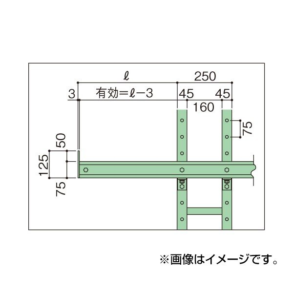 (代引不可)SAKAE(サカエ):バーラック中量型アーム BM60WB
