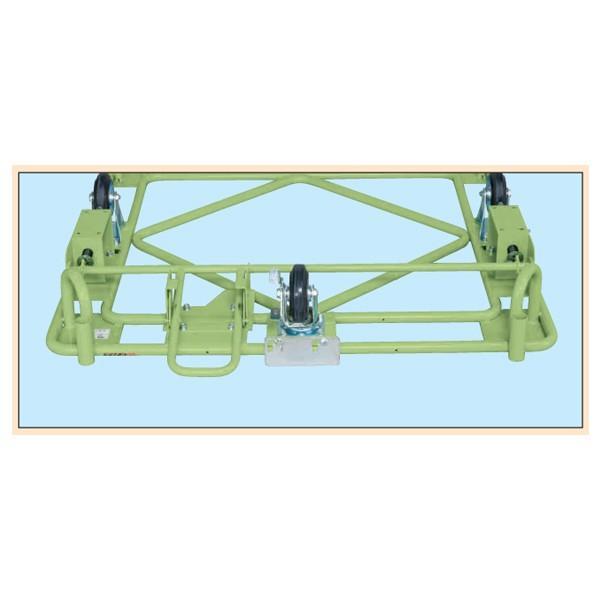 (代引不可)SAKAE(サカエ):自在移動回転台車 オプション フットブレーキ R-11FB