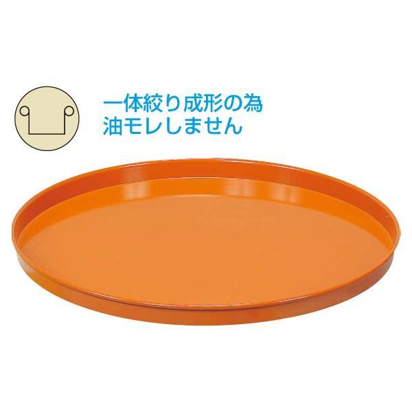 (代引不可)SAKAE(サカエ):円形ドラム台車 オプション 受皿 DR-U