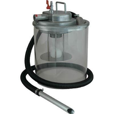 アクアシステム エア式掃除機 乾湿両用クリーナー(オープンペール缶用)(1台) APPQO400 3538818