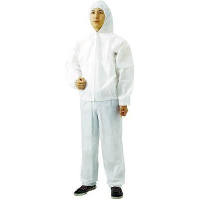 TRUSCO TRUSCO TRUSCO 不織布使い捨て保護服ズボン LL(80入)(1袋) TPCZLL80 4880251 451