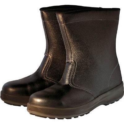 シモン 安全靴 半長靴 WS44黒 27.5cm(1足) WS44BK27.5 7570929
