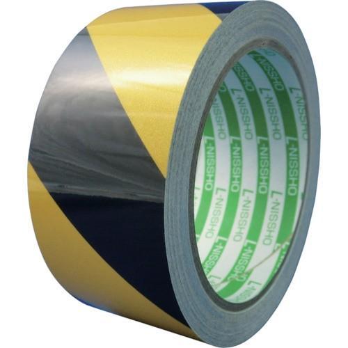 日東エルマテ 再帰反射テープ 200mm×10m イエロー/ブラック HT200YB 8290909