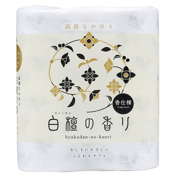四国特紙 白檀の香り トイレットペーパー 4ロールダブル