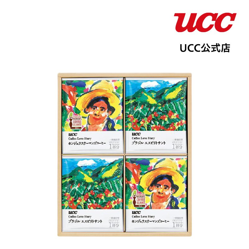 UCC ギフト COFFEE LOVE STORY(MCS-30)
