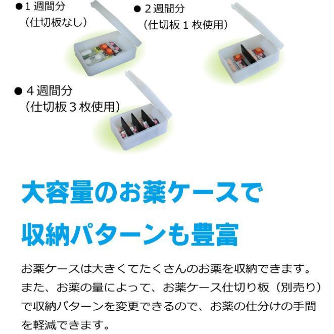 服薬管理ROBO『コッくんお薬よ〜』 4棟式(朝・昼・夜・寝 タイプ) cokkun 07