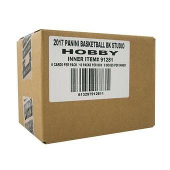 【未開封インナーケース/8ボックス入り】【送料無料】 16/17 Panini Studio Basketball Hobby Box