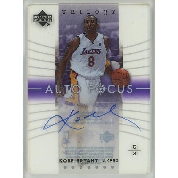 Kobe Bryant 04/05 UpperDeck Trilogy Auto Focus