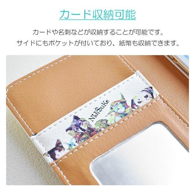 スマホケース iPhoneSE(第2世代)/8/7/6s/6 手帳型 ケース 猫 おしゃれ 手帳 横 縦 カード収納 シロクマ しろくま フラミンゴ collaborn-plus 04