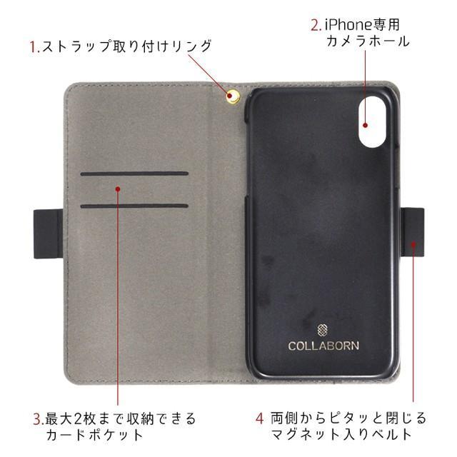 スマホケース iPhone11/11 pro/11 pro MAX/X/XS/XS Max/XR/SE(第2世代)/8/7/6/6s plune 手帳型 ケース 北欧 花柄 可愛い|collaborn-plus|14