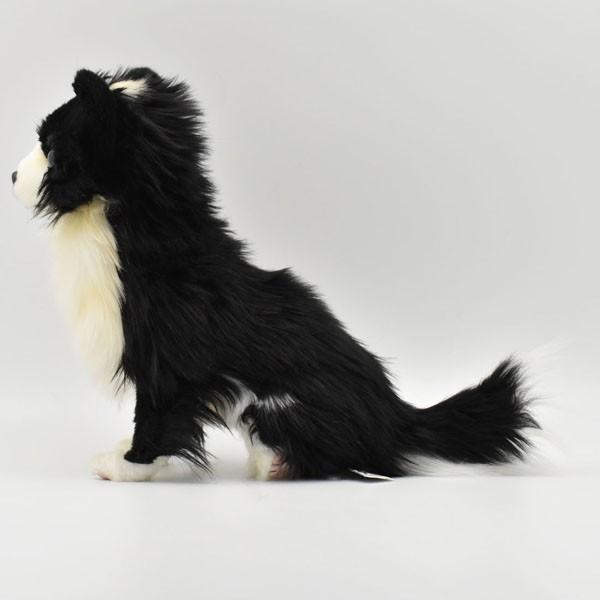ハンサ【HANSA】ぬいぐるみチワワ31cm わんこ ワンちゃん 犬 いぬ イヌ 白黒 ペット|collecolle|03