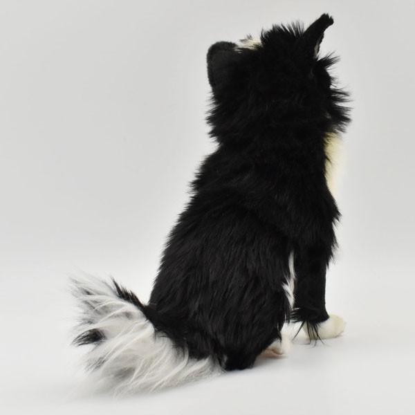 ハンサ【HANSA】ぬいぐるみチワワ31cm わんこ ワンちゃん 犬 いぬ イヌ 白黒 ペット|collecolle|04
