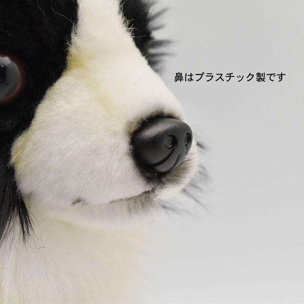 ハンサ【HANSA】ぬいぐるみチワワ31cm わんこ ワンちゃん 犬 いぬ イヌ 白黒 ペット|collecolle|06