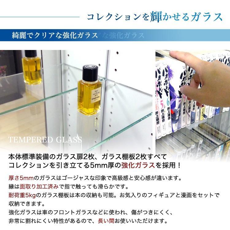 コレクションラック DIO 本体 ワイド ロータイプ 中型|collectioncasestore|09