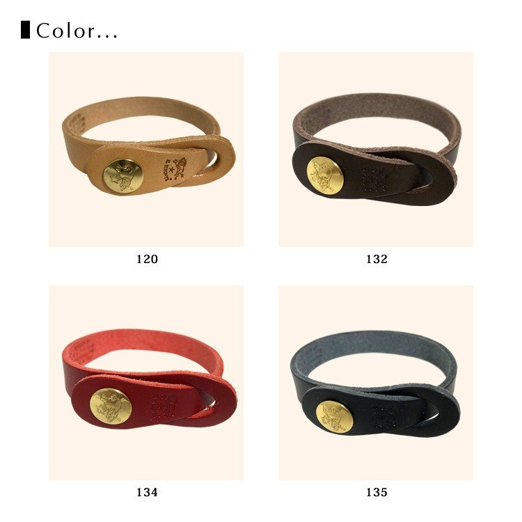 イルビゾンテ ブレスレット レザー IL BISONTE H0529P|collectioncasestore|05
