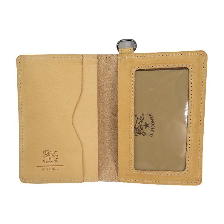 イルビゾンテ IL BISONTE カードケース 定期入れ C1153 並行輸入品|collectioncasestore|11