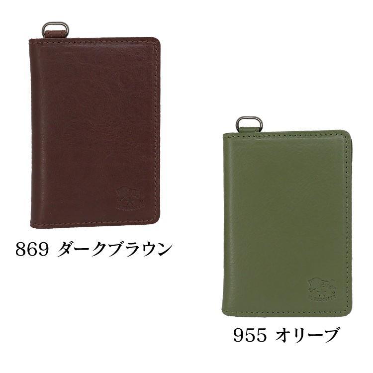 イルビゾンテ IL BISONTE カードケース 定期入れ C1153 並行輸入品|collectioncasestore|07