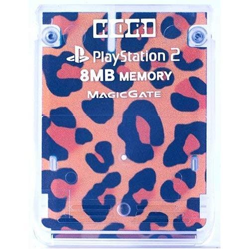 プレイステーション2専用 メモリーカード8MBヒョウ(豹柄)(管理番号:1537)|collectionmall