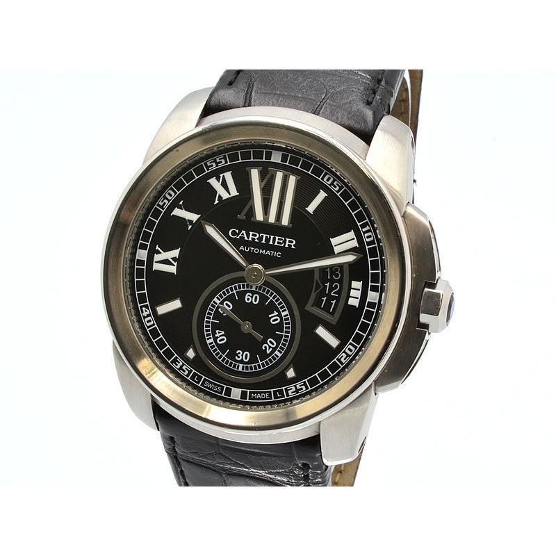 ●日本正規品● カルティエ メンズ カリブル 腕時計 ドゥ カルティエ W7100016 送料無料 裏スケ SS 黒文字盤 裏スケ 自動巻き 3年保証 腕時計 送料無料, おもちのきもち:0bde477d --- airmodconsu.dominiotemporario.com