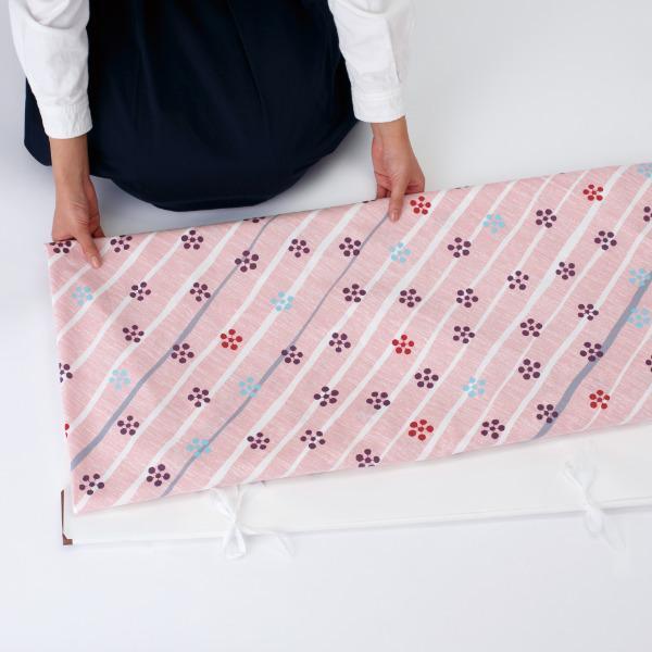 風呂敷 エコバッグ 150cm 大判 着物包み 梅 晴れ着包み ふろしき綿100% ( 綿 きもの包み 衣装包み 衣裳包み )|colorfulbox|04