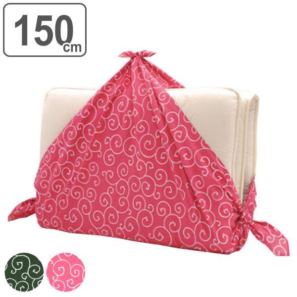 風呂敷 エコバッグ 150cm 大判 京唐草 着物包み 晴れ着包み ふろしき 綿100% ( 綿 きもの包み 衣装包み 衣裳包み )|colorfulbox
